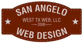 San Angelo Web Design - Website Design & Hosting