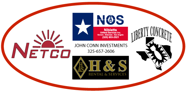 Netco Energy Products - H&S Rental Services - Niblett's Oilfield Services - Liberty Concrete - John Conn Investments